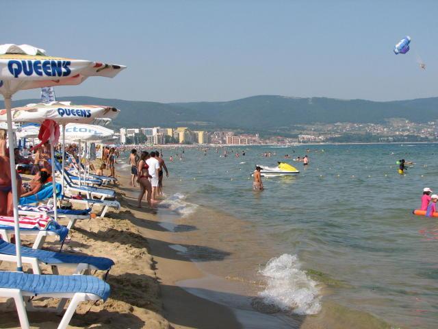 Вода солнечный берег болгария