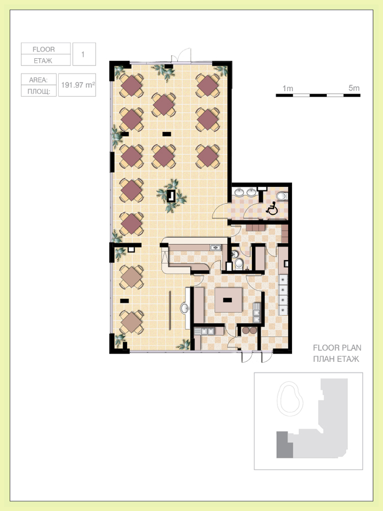 Small cafe floor plan design - Small restaurant floor plan design ...