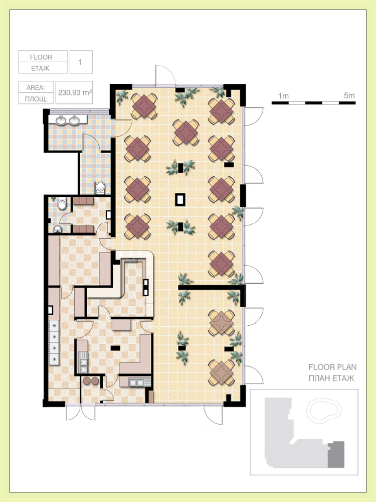 Cafe floor plans over 5000 house plans for Coffee shop design software