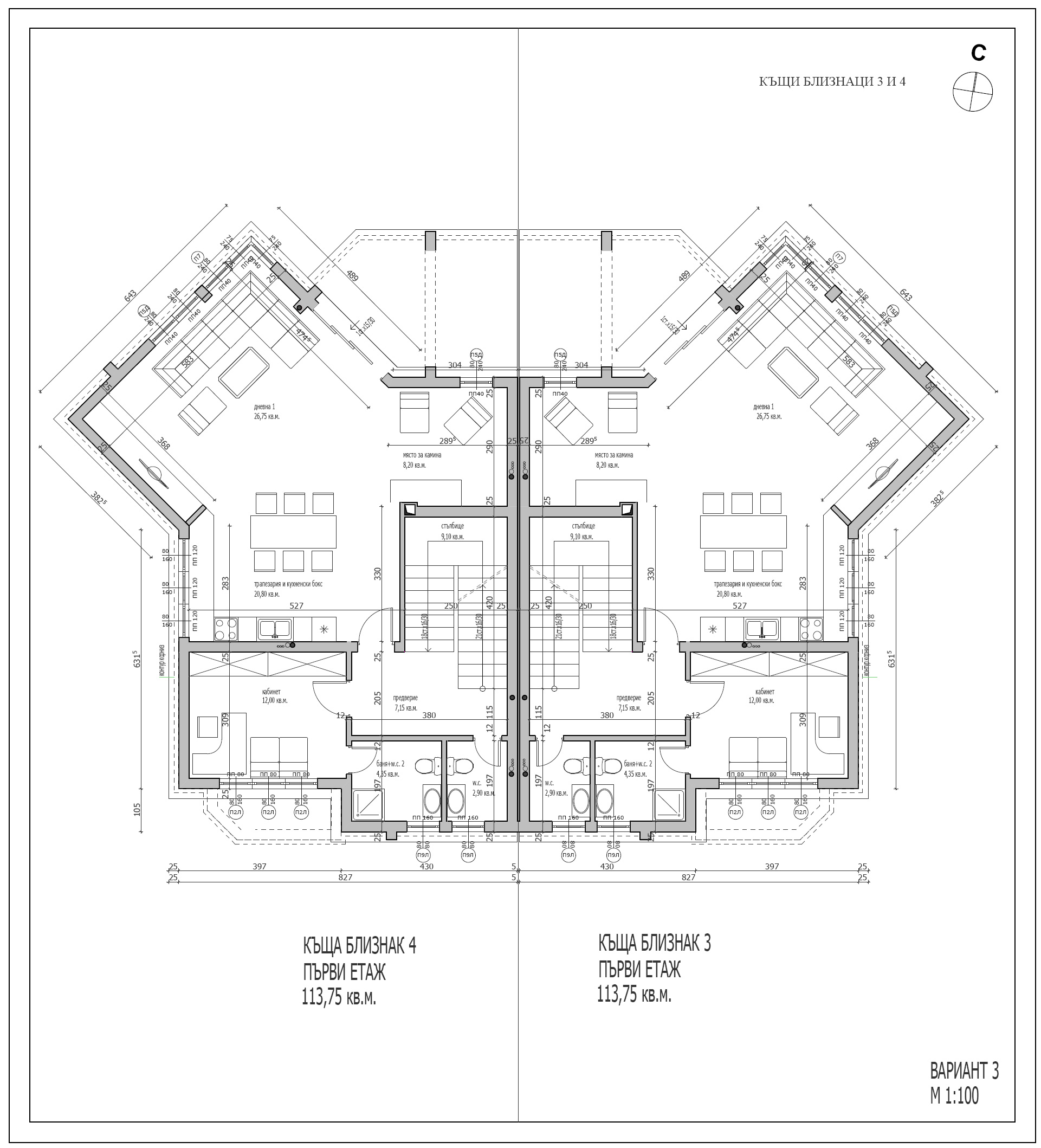 13323 on floor plan for 3 bedroom 2 bath house