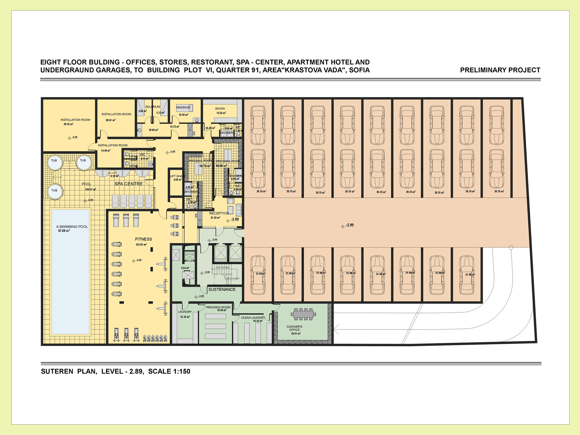 Availability and prices mercuresofia luxury apartment House plan with basement parking
