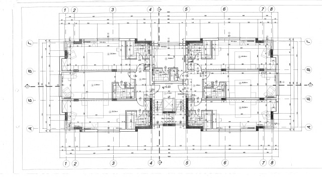 Floor plans of Modern hotel for rent in Sofia