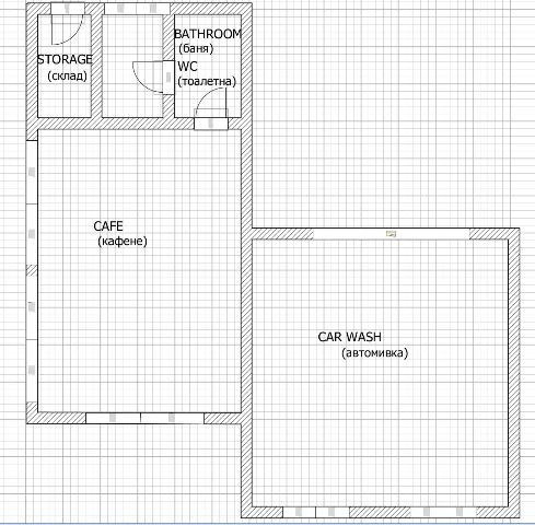 floor plans of working car wash with caf 233 near pleven