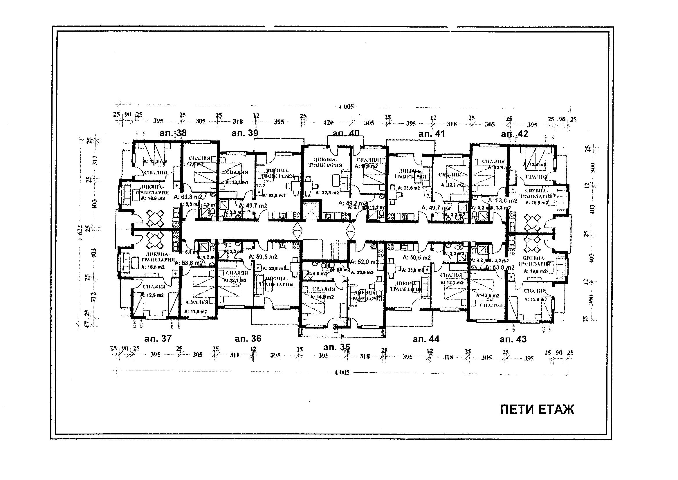 Floor Plans Of Elegant Apartments In The Luxury Spa