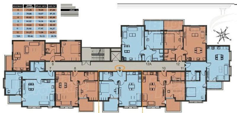 Floor Plans Of Apartment Quot Sorrento Quot