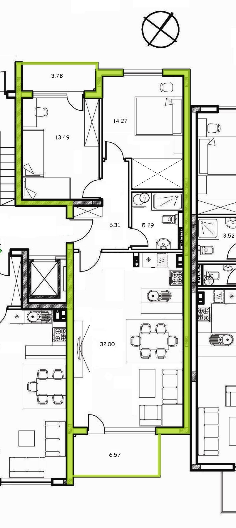 Floor Plans Of Apartment Quot Art Deco Quot