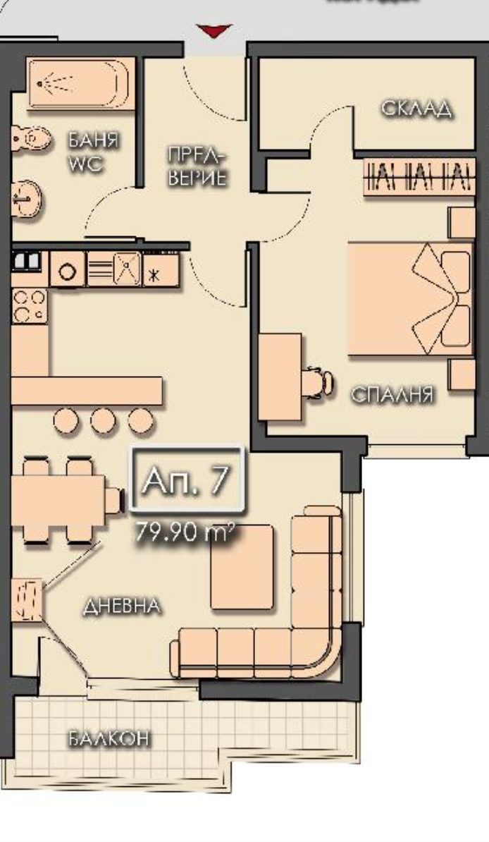 One Bedroom Apartments In