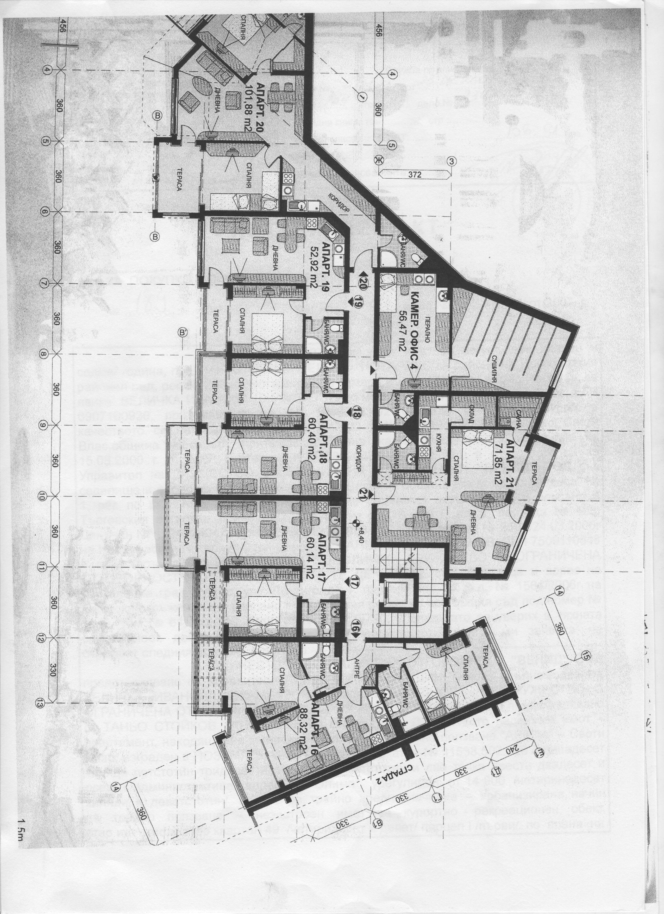 Floor plans of luxury one bedroom apartment in arena 1 for Apartment complex floor plans